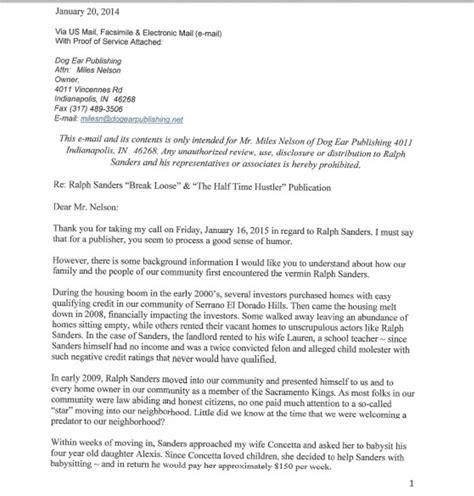 Jasper Report Half Letter Ripoff Report The Half Time Hustler Complaint Review El Dorado California