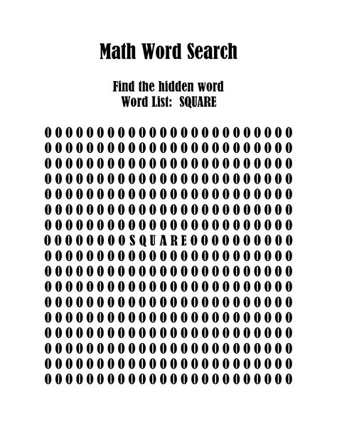 printable word search geometry math word search printables math word search puzzles