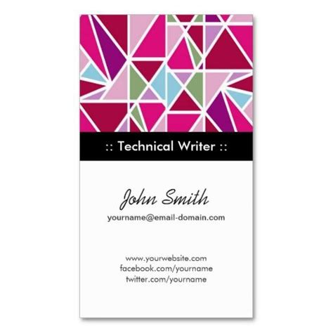 Screenwriter Business Card Templates by 204 Best Images About Technical Writer Business Cards On