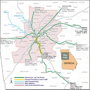 Atlanta Train Map by Commuter Rail Should Be Quot Plan B Quot For Atlanta