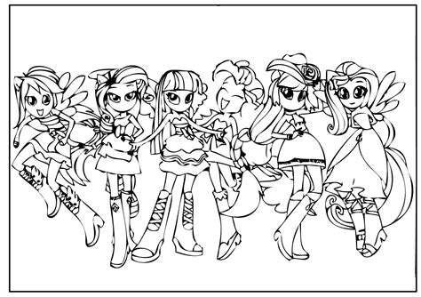 my little pony equestria girl coloring pages futpal com