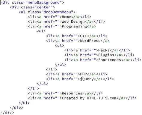 Script Php Untuk Membuat Menu Dropdown | membuat menu dropdown 3 level kursus web design