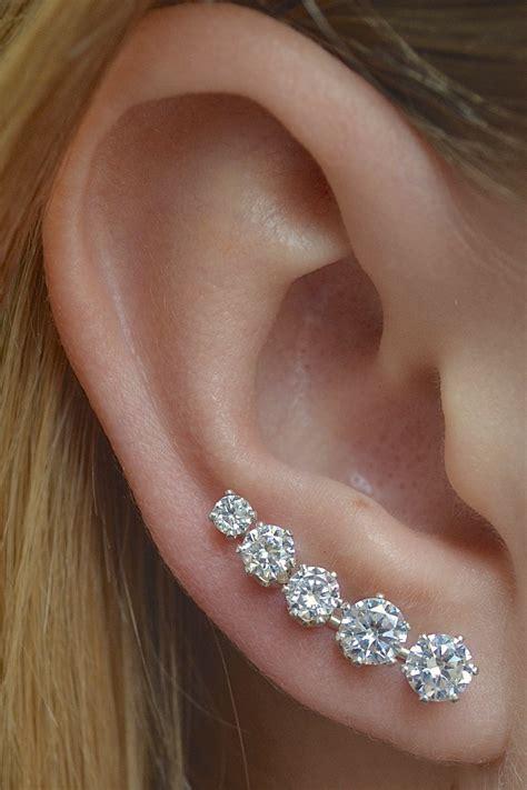 Item Ke87671 Anting Tassel Black Earring Pin Ooh La La Mini Sterling Silver Or 14k Gold