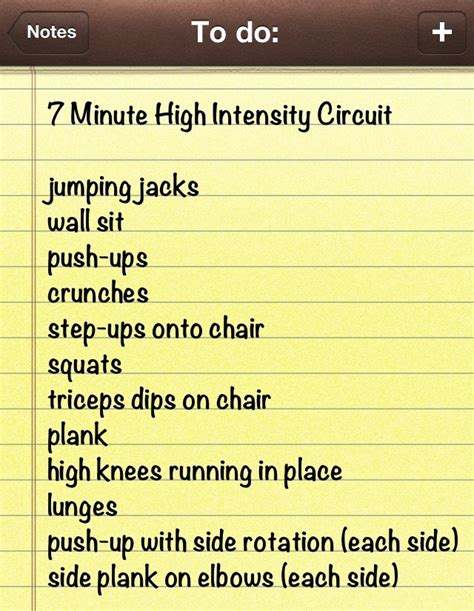 high intensity workouts most popular workout