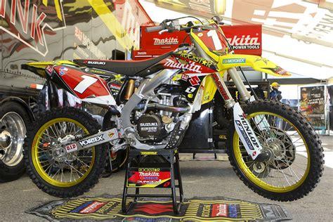 Dungey Suzuki Dungey Vital Mx Pit Bits Anaheim 1 2011
