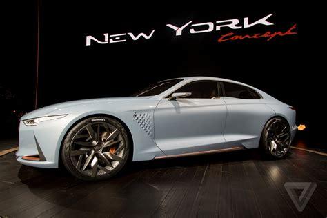 Gamis Model G70 genesis new york concept is a sports sedan that ll make