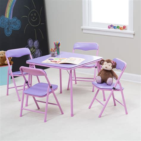 Childrens Folding Table And Chairs Set Childrens Folding Table And Chair Set