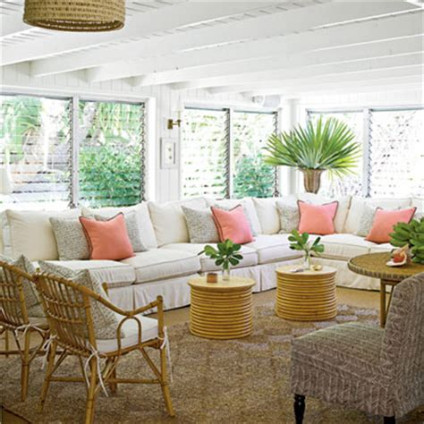 classic tropical island home decor coastal living