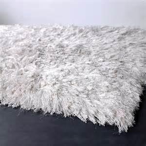 celecot shag rug in white and nursery necessities in