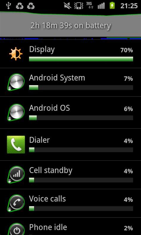 android os high battery usage battery usage shortcut android apps on play