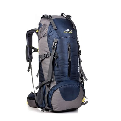 Bag Backpack 50l large waterproof travel bags rucksack outdoor cing hiking bicycle sports