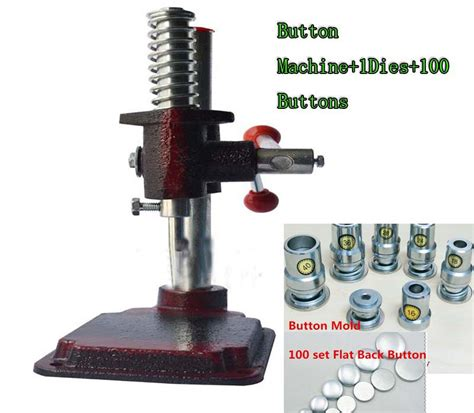 Upholstery Button Press by Buy Wholesale Button Press Machine From China