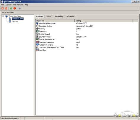 download qemu download free qemu manager qemu manager 7 0 download