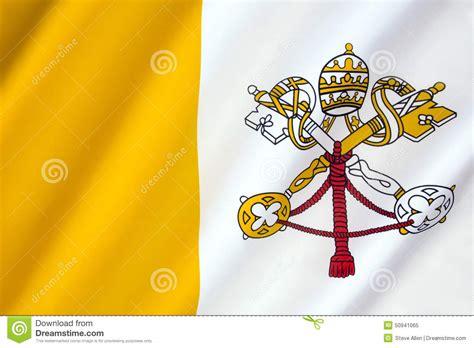 santa sede citt罌 vaticano bandiera di citt 224 vaticano fotografia stock immagine