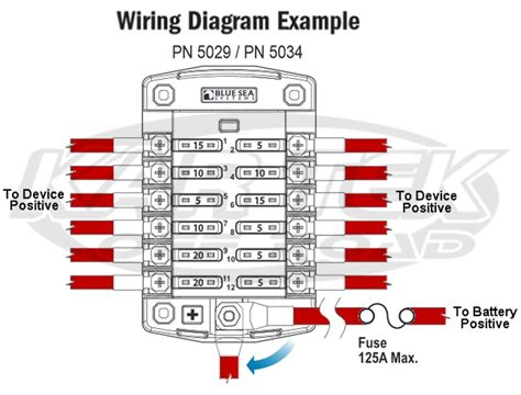 st blade fuse block wiring diagrams wiring diagram with