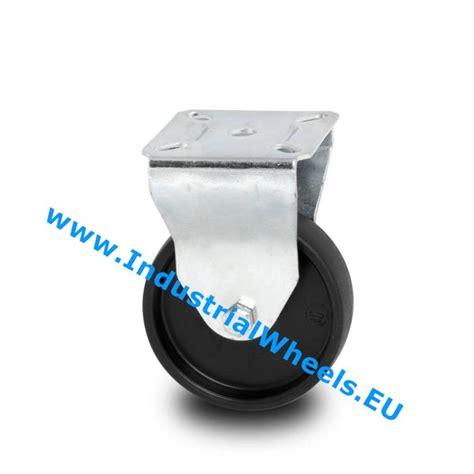 billige len fast hjul 216 50mm polypropylen hjul 40kg billige