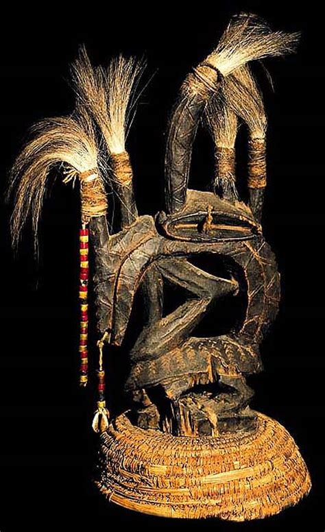 african tribal art bambara tribe antique ceremonial