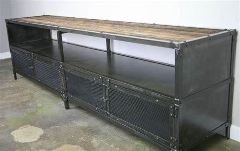 Rak Tv Cabinet Credenza 150 buy a made industrial media console credenza modern vintage credenza reclaimed