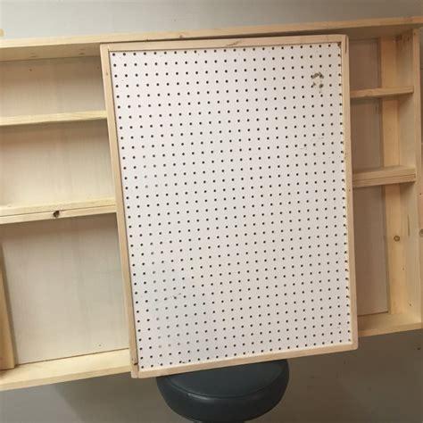 pegboard cabinet doors pegboard cabinet doors remodelaholic build an organized