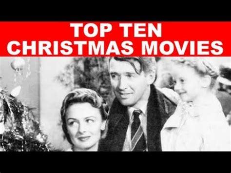 top ten christmas movies youtube
