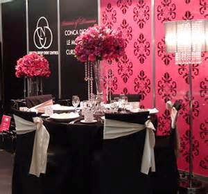 pink and black wedding decor todeka s simple cakes their own like strapless