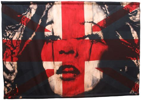 Beautiful Home Decorations Contemporary British Artist Using Vintage Flags And Fabric