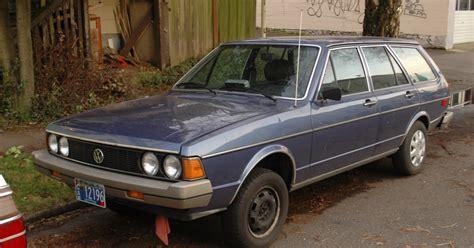 parked cars 1980 volkswagen dasher diesel