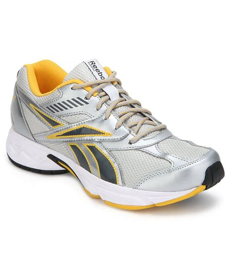 active sport shoes buy reebok active sport ii lp silver sports shoes for