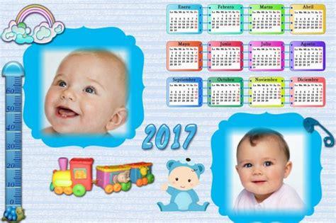 Calendario Para Bebes Fotomontajes De Calendarios Fotomontajes Infantiles