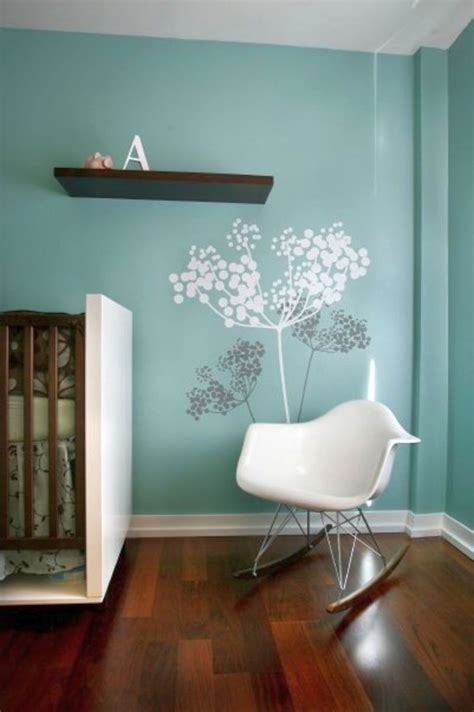 cool painting ideas for bedrooms white tree on blue paint cool painting ideas for bedrooms