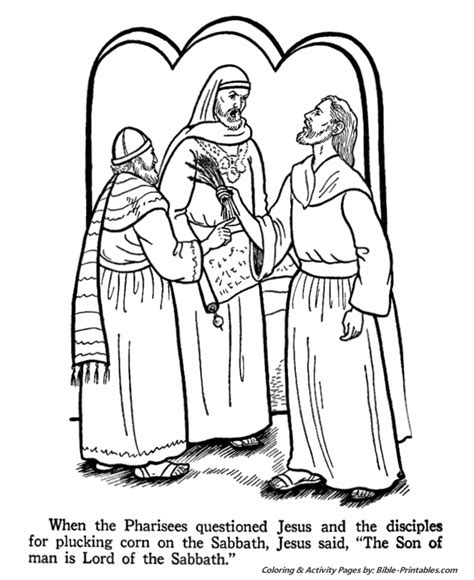 coloring pages jesus teaching free coloring pages of jesus and pharisee