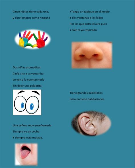 imagenes infantiles sobre los sentidos 3 1 actividad 1 los sentidos