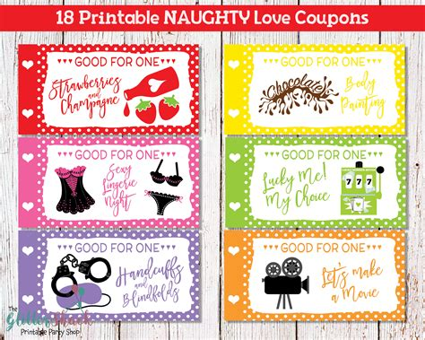 free printable dirty love coupons for him printable naughty love coupons for men husband boyfriend sexy