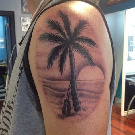 palm tree sunset tattoo designs palm tree tattoos designs ideas and meaning tattoos for you