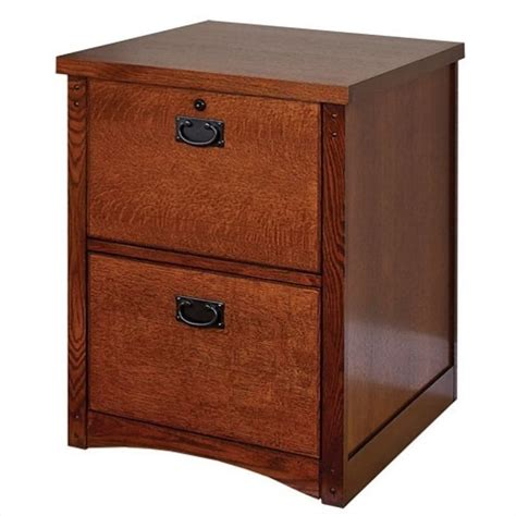 office country cottage 2 drawer vertical wood file
