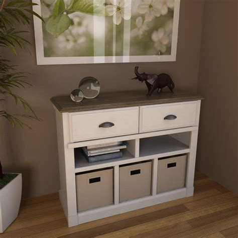 Entry Table With Storage country modern living room decor with ameriwood entry storage console and federal