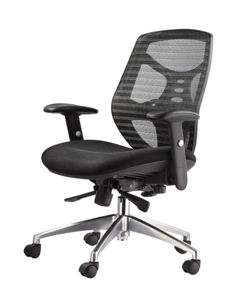 midback black mesh executive swivel office chair with mesh