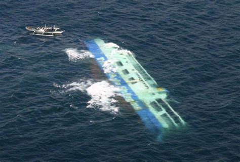 Sink Ships by Cargo Ship Sinks Philippines All Passengers Rescued