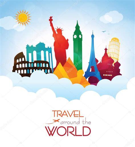 Around The World For Free travel around the world stock vector 169 giorgos245 72811559