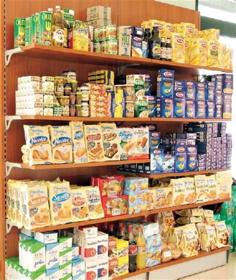 scaffali alimentari scaffalatura alimentare arredo salumeria panetteria verdura