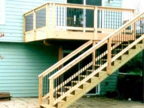 Deck Stairs Design Ideas by Deck Stairs Design Ideas A More Decor