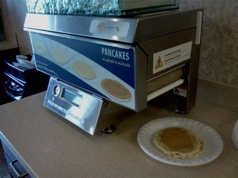 Pancake Machine G pancake machine picture of inn express gibson new milford tripadvisor