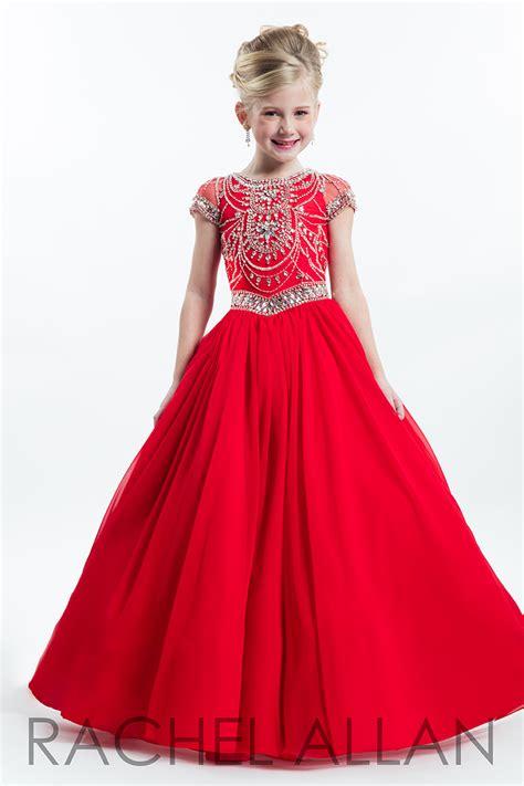 rachel allan  pageant dress