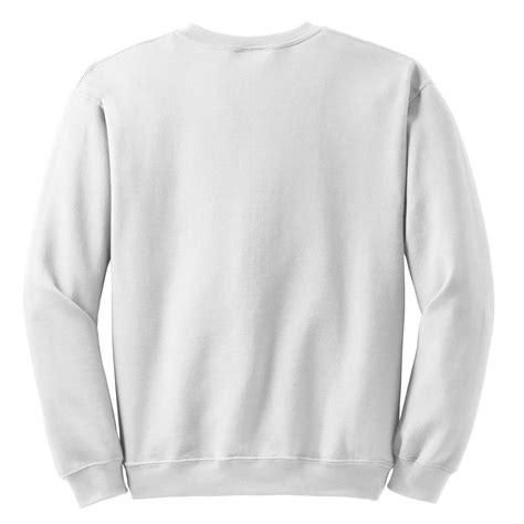 White Crewneck White gildan 18000 heavy blend crewneck sweatshirt white