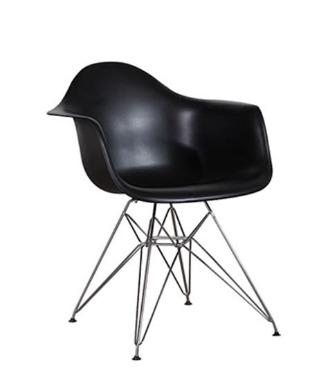 black eames chair with arms eames plastic arm chair black wire miami event tables