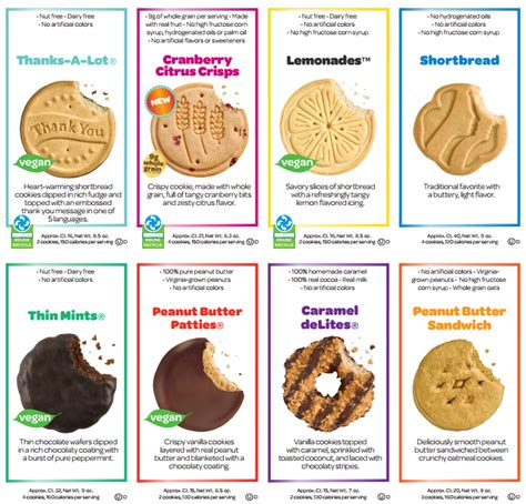 2014 2015 girl scout cookies
