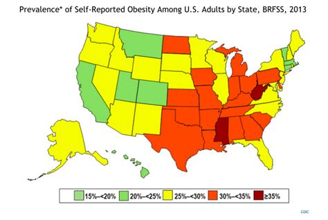 healthiest states in america the state of obesity in america hello healthyhello healthy