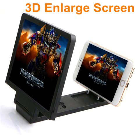 Enlarged Screen 3d For Mobile Phone Best Seller 3d enlarged screen mobile phone frequency lifier