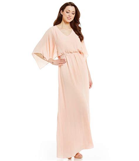 Melani Maxi antonio melani rue georgette maxi dress dillards