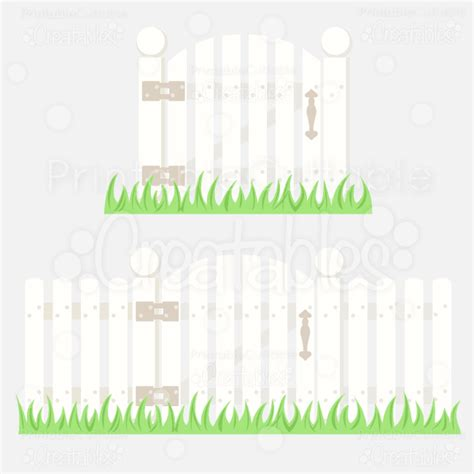 Home Design Elements Reviews picket fence w gate svg cutting file amp clipart copy
